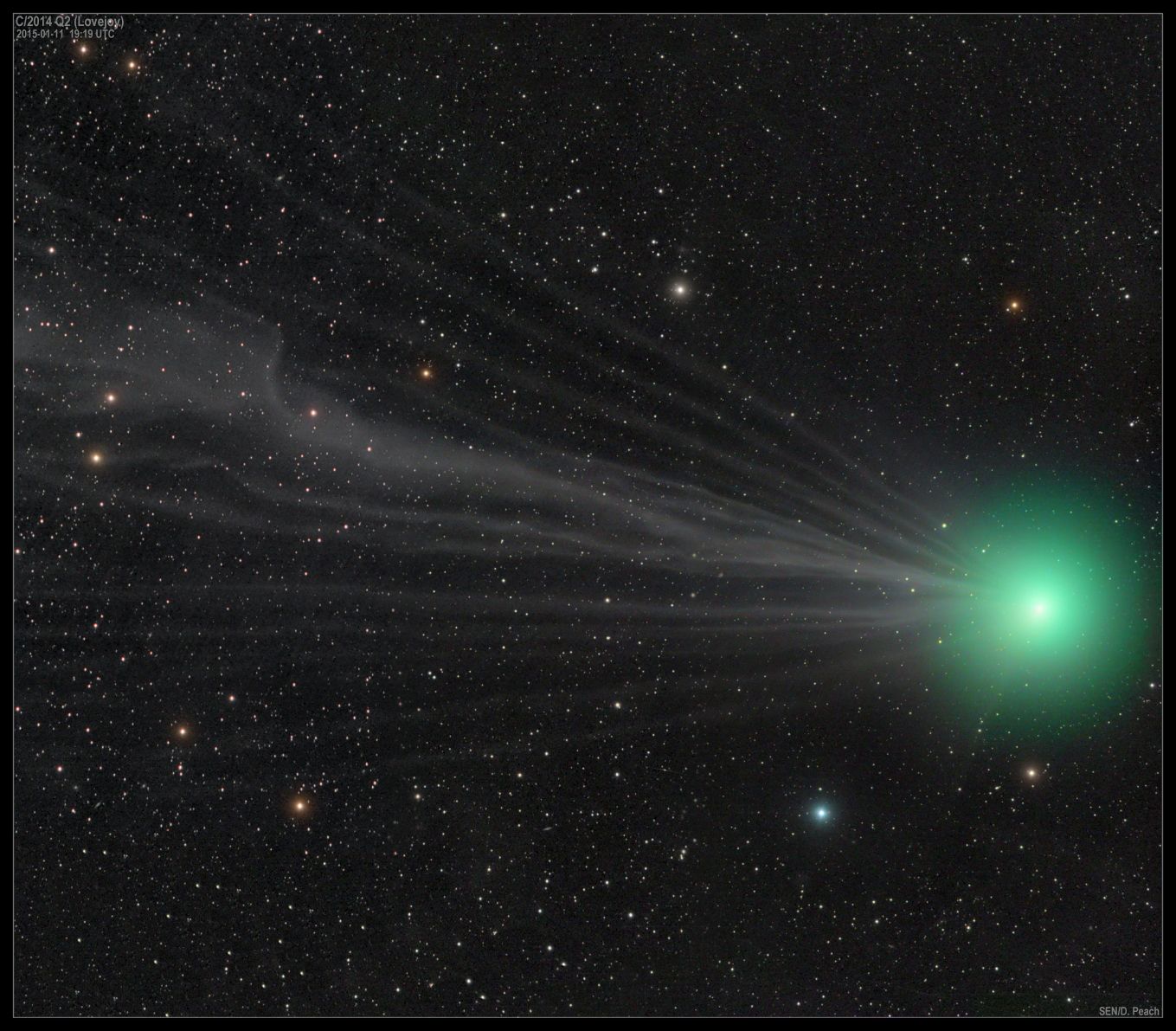 Comet Lovejoy Now at its Brightest: Images from Around the ...