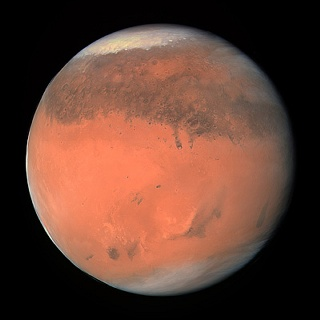color of mars planet - photo #1