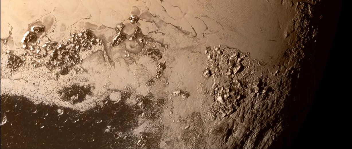 Pluto 39 s moons nix and hydra get real new pluto mountain for Why was nasa created