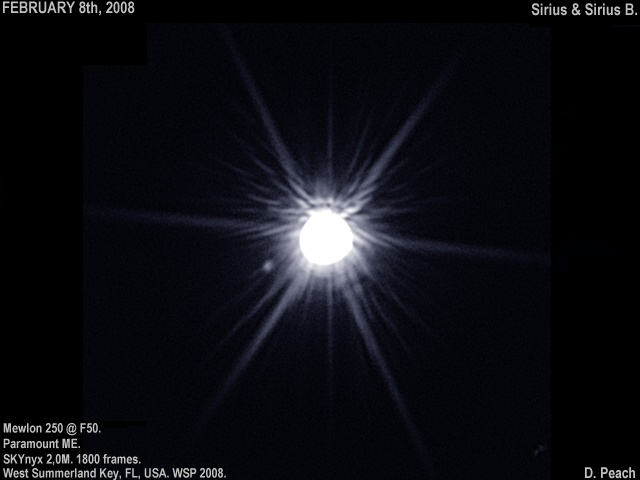 Sirius Star Size B - Pics about space